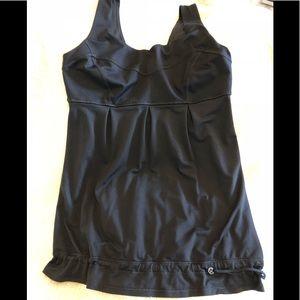 🍋 Lululemon drawstring waist tank top - Size 6